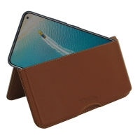 10% OFF + FREE SHIPPING, Buy the BEST PDair Handcrafted Premium Protective Carrying ViVO V17 (India) Leather Wallet Pouch Case (Brown). Exquisitely designed engineered for ViVO V17 (India).