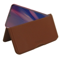 10% OFF + FREE SHIPPING, Buy the BEST PDair Handcrafted Premium Protective Carrying ViVO Y11 (2019) Leather Wallet Pouch Case (Brown). Exquisitely designed engineered for ViVO Y11 (2019).