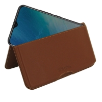 10% OFF + FREE SHIPPING, Buy the BEST PDair Handcrafted Premium Protective Carrying ViVO Y19 Leather Wallet Pouch Case (Brown). Exquisitely designed engineered for ViVO Y19.