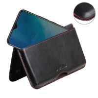 10% OFF + FREE SHIPPING, Buy the BEST PDair Handcrafted Premium Protective Carrying ViVO Y19 Leather Wallet Pouch Case (Red Stitch). Exquisitely designed engineered for ViVO Y19.