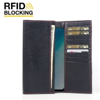 10% OFF + FREE SHIPPING, Buy the BEST PDair Handcrafted Premium Protective Carrying ViVO Y19 Leather Continental Sleeve Wallet (Red Stitching). Exquisitely designed engineered for ViVO Y19.