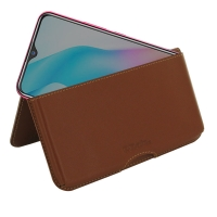 10% OFF + FREE SHIPPING, Buy the BEST PDair Handcrafted Premium Protective Carrying ViVO Y3 Standard Leather Wallet Pouch Case (Brown). Exquisitely designed engineered for ViVO Y3 Standard.