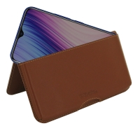 10% OFF + FREE SHIPPING, Buy the BEST PDair Handcrafted Premium Protective Carrying ViVO Y5s Leather Wallet Pouch Case (Brown). Exquisitely designed engineered for ViVO Y5s.