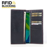 10% OFF + FREE SHIPPING, Buy the BEST PDair Handcrafted Premium Protective Carrying Xiaomi Mi Note 10 Pro Leather Continental Sleeve Wallet (Red Stitching). Exquisitely designed engineered for Xiaomi Mi Note 10 Pro.